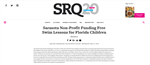 SRQ Magazine: Sarasota Non-Profit Funding Free Swim Lessons for Florida Children